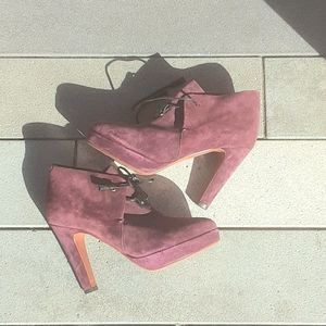 Rag and Bone suede ankle boots